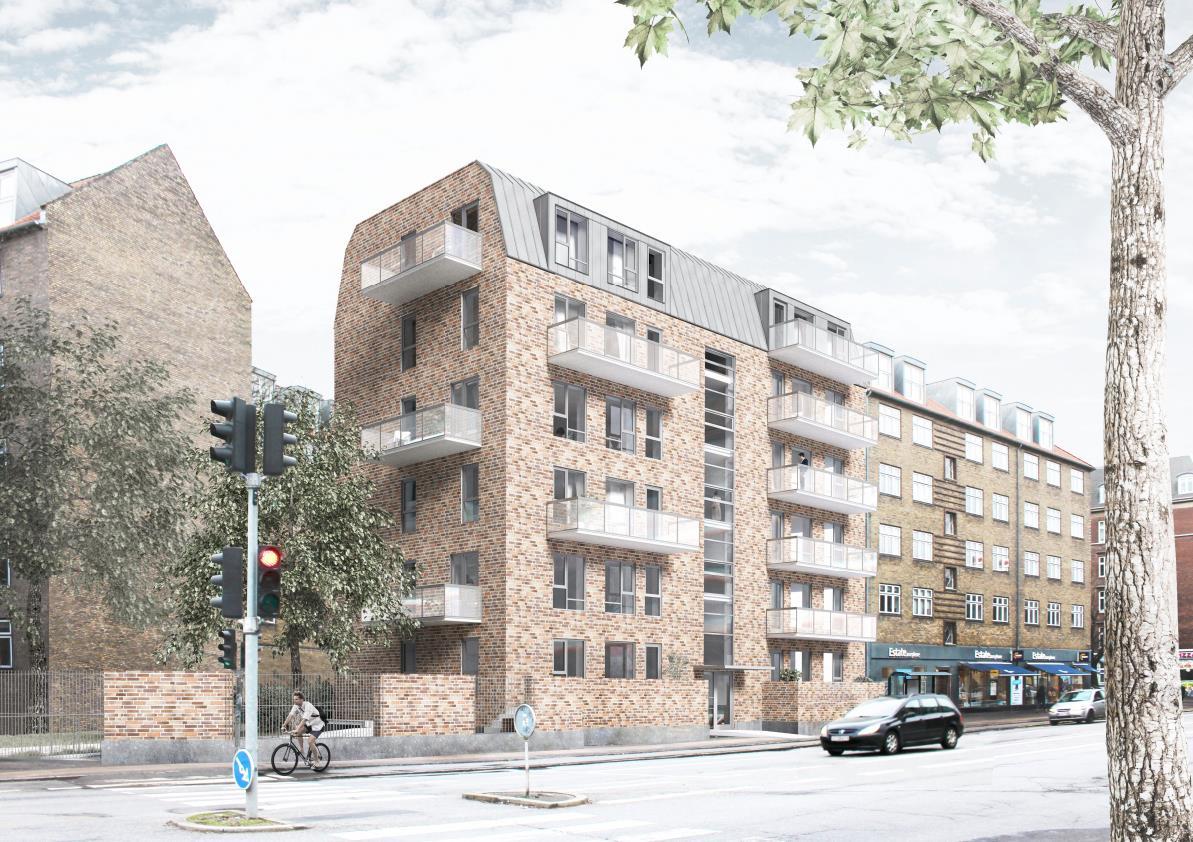 Projektudvikling - 12 boliger i Valby
